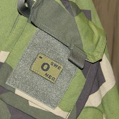TAC-UP GEAR - 0343 Green Bloodtype Velcro Patch