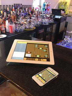 iPad Kassensystem GASTROFIX Barbetrieb in Zürich mit mobilen Kassen iPodTouch und iPadmini Ipad, Mobiles, Fine Dining, Cash Register