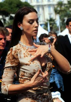 Monica Belluci On May 14th ,1997 In Cannes, France