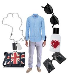 """""""B- british man"""" by racheldenisnefeke ❤ liked on Polyvore featuring Fred Perry, Ben Sherman, Diesel, Ralph Lauren, Black, The Fragrance Kitchen, men's fashion and menswear"""
