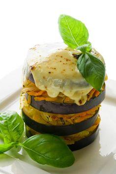 Baked eggplant lasagna