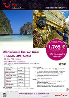 Oferta Thailandia - Súper Thai con Krabi ¡Plazas limitadas! Precio final desde 1.765€ - http://zocotours.com/oferta-thailandia-super-thai-con-krabi-plazas-limitadas-precio-final-desde-1-765e-10/