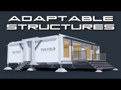 TEN FOLD Adaptable Structures - Behold The Future - YouTube