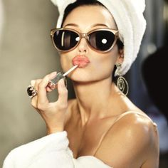 Glam - Portrait - Lingerie - Shades - Sunglasses - Photography - Pose Idea / Inspiration