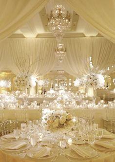 Featured Photographer: Dominique Fierro; Wedding reception idea.