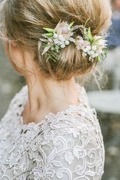 Bruidskapsel # bloemen