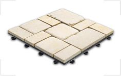 Echtsteinbodenplatten mit Stecksystem bei MWM Design kaufen › MWM Design