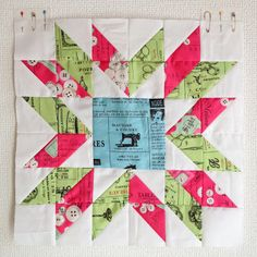 Blossom Heart Quilts   Modern Quilting: Having A Starry Time Blog Hop: Tutorial and Giveaway