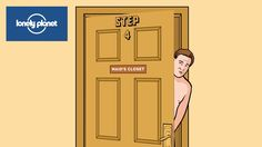 """Book Trailer """"How to Survive Anything: A Visual Guide to Laughing in the Face of Adversity."""" Lonely Planet presents """"How To Survive Locking Yourself out of Your Hotel Room."""""""