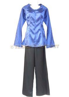 Trang phục biểu diễn văn nghệ: Đồ bà ba. Gồm áo phi tím cà, quần phi đen. Thích hợp để biểu diễn văn nghệ, hát múa các bài hát nam bộ, diễn tiểu phẩm.