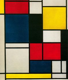 """"""" Piet Mondrian was a Dutch painter and an important contributor to the De Stijl art movement, which was founded by Theo van Doesburg. Piet Mondrian, Mondrian Kunst, Elements And Principles, Elements Of Design, Art Elements, Art Conceptual, Painting & Drawing, Classe D'art, Arts Ed"""
