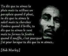 Tu aimes bob marley Plus French Quotes, English Quotes, Citations Mandela, Reggae Bob Marley, Rap, Love Quotes, Funny Quotes, Bob Marley Quotes, Business Motivational Quotes