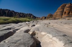 Dry river bed in Purnululu National Park