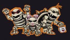 Dry Wendy, Roy and Morton by Meteoris Super Mario Games, Super Mario Art, Morton Koopa, Super Smash Bros Game, Mario Bros., Mario Brothers, Spongebob, Cartoon Drawings, Drawing Ideas