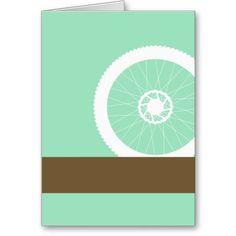 Bike wheel cards