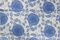 Raoul Textiles Marbella Hand Printed Linen by TheDraperyGal, $1658.00