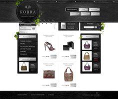 E-commerce Kobra webdesign