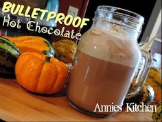 Bulletproof Hot Chocolate !!! Ingredients: 12 oz unsweetened Almond Milk 1/4 cup heavy cream 1 Tbsp cocoa powder 1 1/2-2 Tbsp Truvia or desired sweetener to taste pinch of sea salt 2 Tbsp butter 1 Tbsp coconut oil 1 tsp vanilla extract Heat all ingredients in a pot or microwave. Place in a blender and blend until frothy. Pour in a cup, top with sugar free whipped cream and cinnamon if desired. Enjoy it while it lasts . Please COMMENT & SHARE MY posts! My recipes and posts aren't being ...