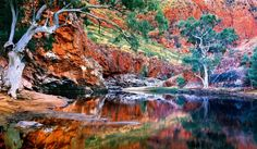 Ormiston Gorge, Northern Territory, Australia (photo by Ken Duncan) Australia Landscape, Alice Springs, Enjoy Your Vacation, Take Better Photos, Nice View, Landscape Photography, Photography Sites, Scenic Photography, Nature Photography