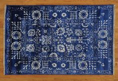 Hand knotted and incredibly stylish. Check out our latest #DealoftheDay. Click through for more amazing rugs!  4' x 6' Tone on Tone Wool and Bamboo Silk Tabriz Oriental Rug Hand Knotted