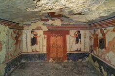 Tomba Degli Auguri, Tarquinia   540 e il 530 a.C.