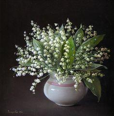 Marina Zakharova (b.1987) — Lily- of-the valley, 2005 (700×709)