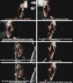 do you hear that... its the sound of a million Klaus fangirls crying