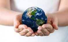 World in our hands ppt backgrounds