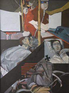 São Mamede - Galeria de Arte Rocha de Sousa Emergência I 2003 Acrilico x Tela 130 cm x97 cm