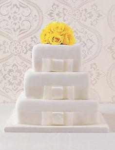 3 Tier Elegant Assorted Wedding Cake