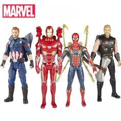 30cm Electronic Marvel Avengers Infinity War Titan Hero Power FX Captain America Spider Thor Iron Man Action Figure Hasbro Toys  Price: $ 65.99 & FREE Shipping   #rc #security #toys #bargain #coolstuff #headphones #bluetooth #gifts #xmas #happybirthday #fun