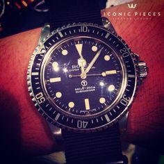 #rolex #vintagerolex #oyster #menwatches #iconicpieces #watches #vintagewatches   #submariner #5513 #5517 #milsub #militarysubmariner #wristshot #royalnavy