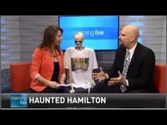 Barnaby makes his third appearance on CHCH Morning Live (from Oct Oct 30, Book Signing, Hamilton, Bones, Third, Author, Writers, Dice