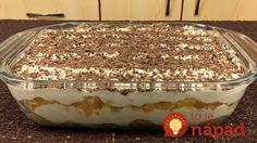 15-minútová tiramisu misa súplne famóznou chuťou: Toto tromfne aj zložité zákusky z cukrárne!
