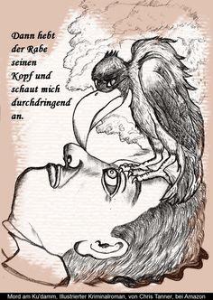 """Auf dem Weg in die Hölle. """"Mord am Ku'damm"""". Illustrierter Kriminalroman. / On the way to hell. """"Murder on the Kurfürstendamm"""". Illustrated detective novel. www.gutenachtgeschichten24.com"""