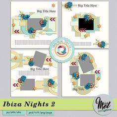 Ibiza Nights 2 by MissMel Templates https://www.digitalscrapbookingstudio.com/digital-art/templates/ibiza-nights-2/