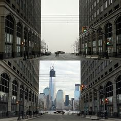 Fog before and after
