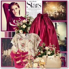 Professor Green-Lullaby ft. Tori Kelly  #ZoeyDeutch #maxiskirt #pink #beige #bow #floralprint #paris #london #starstyle