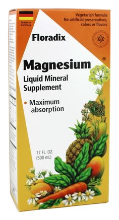 Save on Floradix Magnesium Liquid Mineral Supplement by Flora and other Liquid Formulas, Magnesium and Chemical-Free remedies  at Lucky Vitamin. Shop online for Vitamins & Minerals, Flora items, health and wellness products at discount prices.
