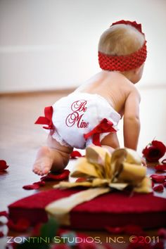 Zontini Studios in Houston Specializes in Family and Baby Photography: The Sweetest Little Valentine