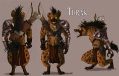 Gnoll Archer concept by fiszike on deviantART