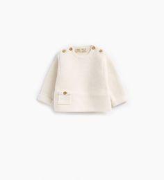 Imagem 1 de Camisola básica bolso da Zara