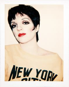 Andy Warhol - Polaroids - Liza Minnelli, 1978 Art and Ideas Shared :  More At FOSTERGINGER @ Pinterest