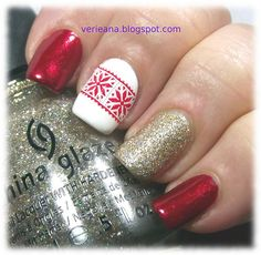 #chinaglaze Just Be-Claws & I'm Not Lion and #ginatricot White stamped with #bundlemonster #bm416 &#konad red