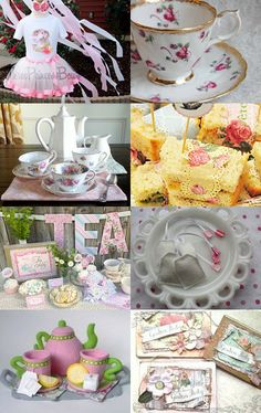 Vintage Tea Party Birthday by Kristen Boyd on Etsy--Pinned with TreasuryPin.com