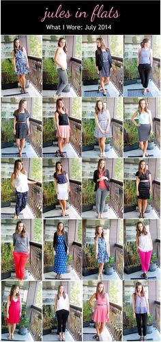 jules in flats: monthly outfit roundup (july 2014)  personal style blog - business casual workwear on a budget