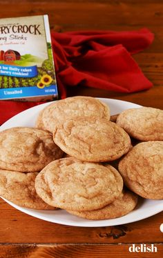 These cookie recipes represent the best of the best, including chewy chocolate chip cookies, perfect peanut butter cookies, and next-level snickerdoodles. Cookie Desserts, Sweet Desserts, Cookie Recipes, Dessert Recipes, Cookie Ideas, No Bake Cookies, Cookies Et Biscuits, Snickerdoodle Recipe, Chewy Chocolate Chip Cookies