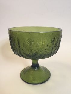 Promotional #Offer! Green Glass Candy Dish by FTD is available at  https://www.etsy.com/listing/256247370/green-glass-candy-dish-by-ftd?utm_source=socialpilotco&utm_medium=api&utm_campaign=api  #housewares #bowl