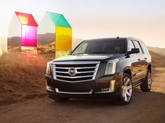 The Next Generation 2015 Cadillac Escalade. Portrait by Autumn de Wilde.