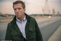 Damian Lewis...he's a unique kind of pretty. Homeland, Life, Band of Brothers